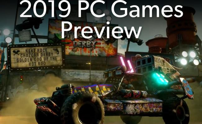 The Most Anticipated Pc Games Of 2019 Pcworld