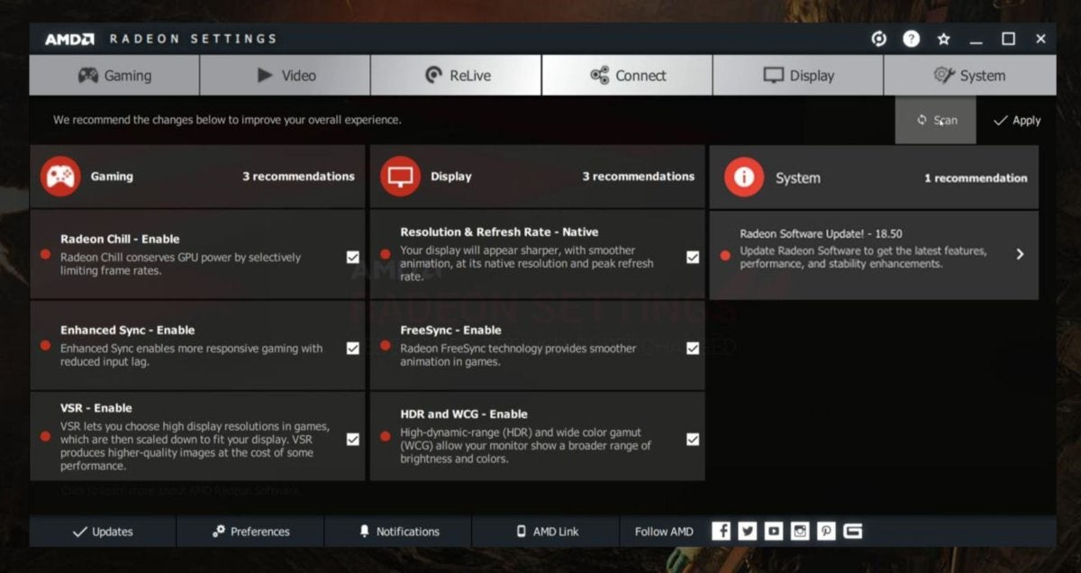 AMDs Radeon Software Adrenalin 2019 update is packed with performanceboosting features  PCWorld