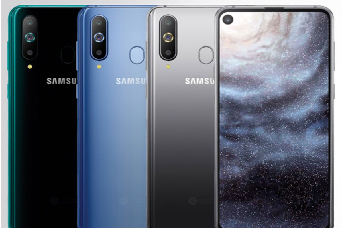 The new Samsung A8s could be our first look at the Galaxy S10's notchless 'hole-punch' display | PCWorld