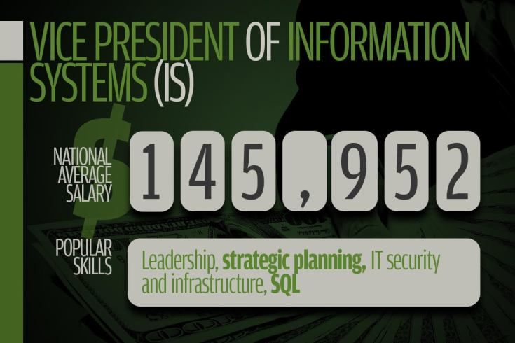 10 vp of information systems
