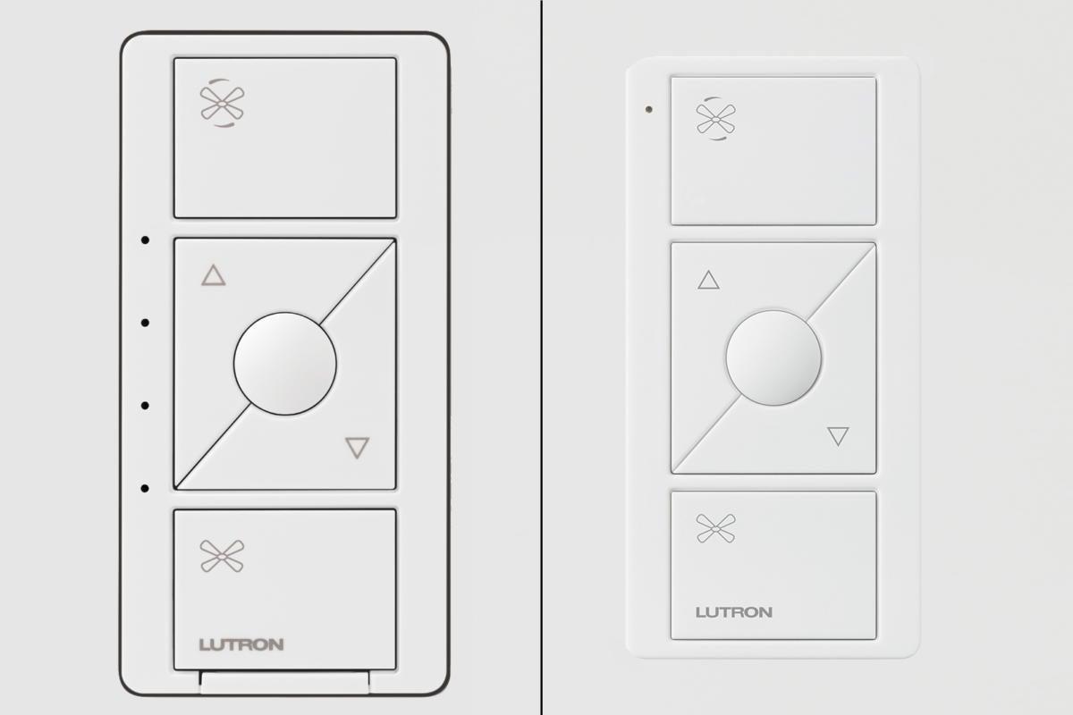 Lutron adds a smart ceiling fan controller to the Caséta