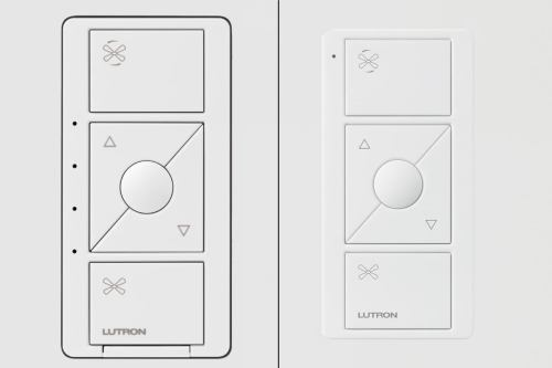 small resolution of caseta by lutron fan speed control