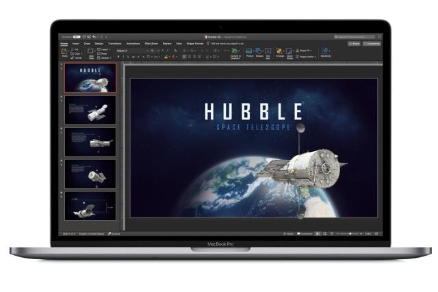 macbook pro microsoft powerpoint 2019