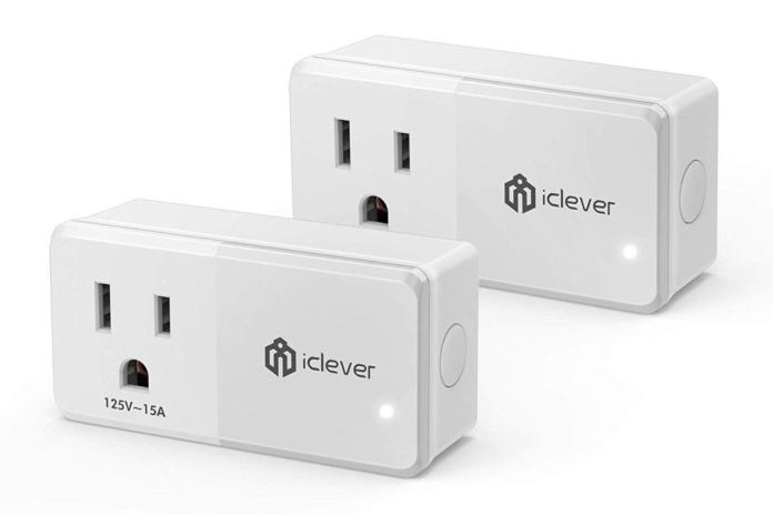 iclever smart plug two pack