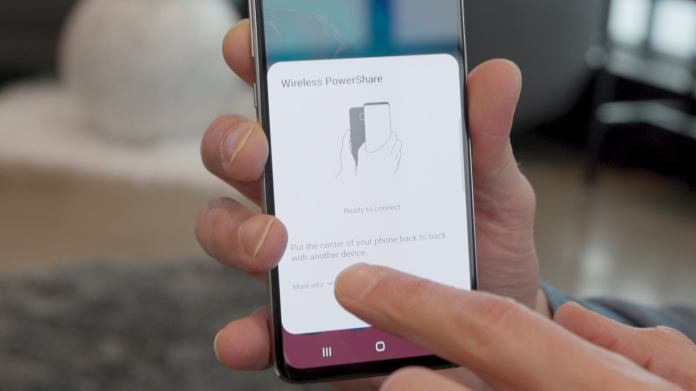 How To Use Wireless Powershare On The Galaxy S10 To Charge Your Galaxy Buds Or Another Phone Pcworld