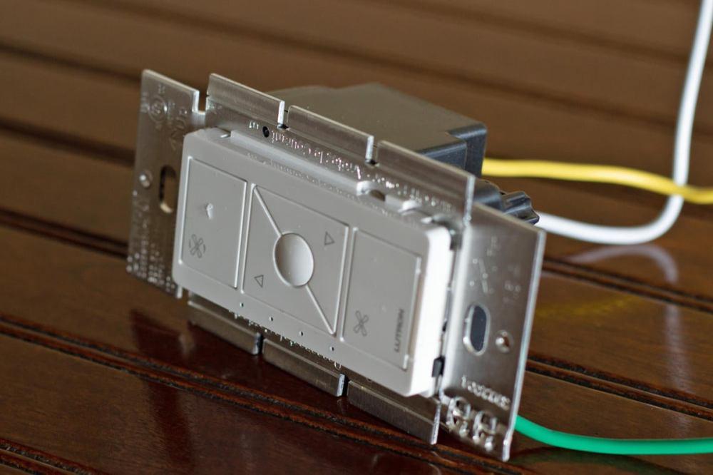 medium resolution of lutron caseta fan control side tabs