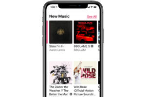 apple music iphone x