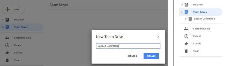 google drive collaboration create team drive 1