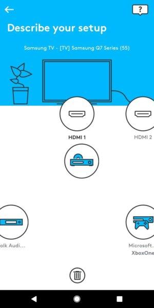 harmony express device map