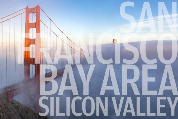 san francisco bay area and silicon valley golden gate bridge by spondylolithesis getty