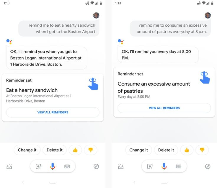 17 google assistant reminders