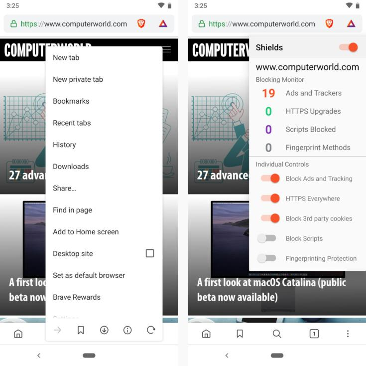 android privacy security apps brave