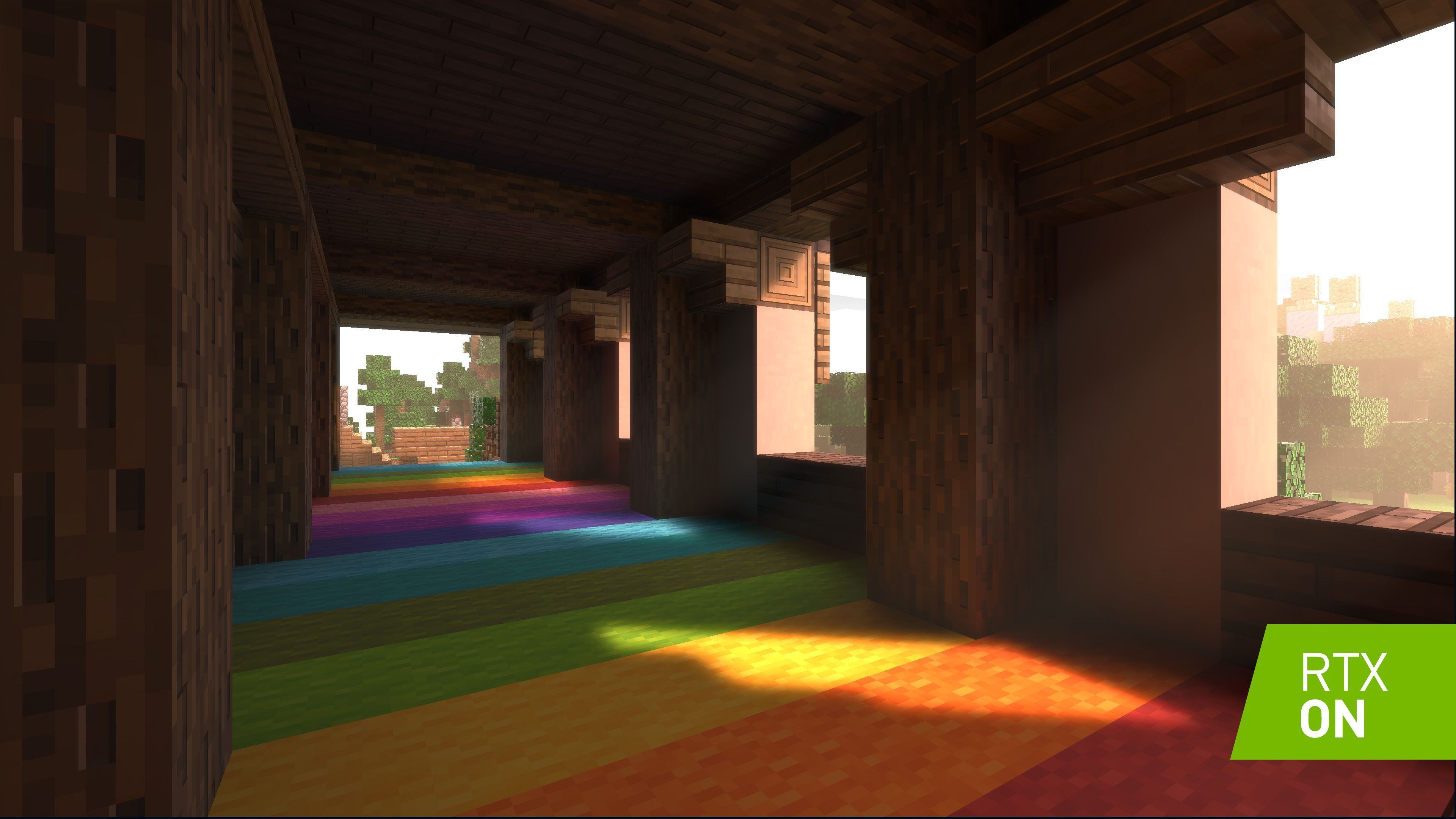 Realtime ray tracing is coming to Minecraft on Windows 10