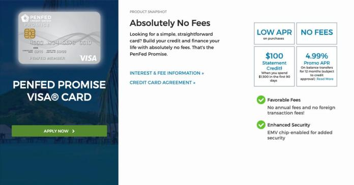 penfed promise visa