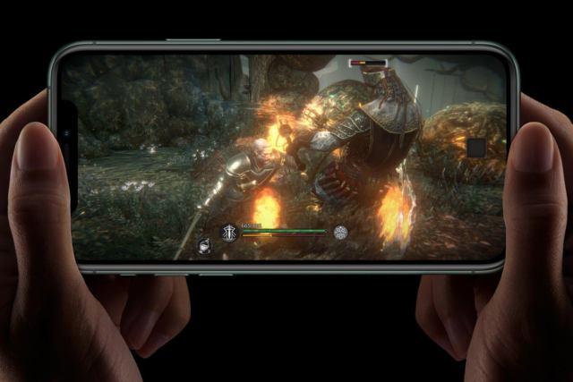 iphone 11 pro игры