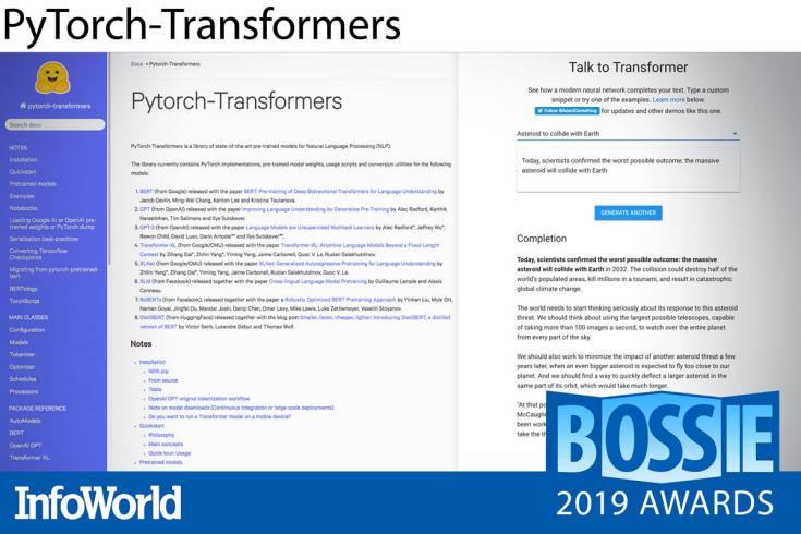 bossies 2019 pytorch transformers