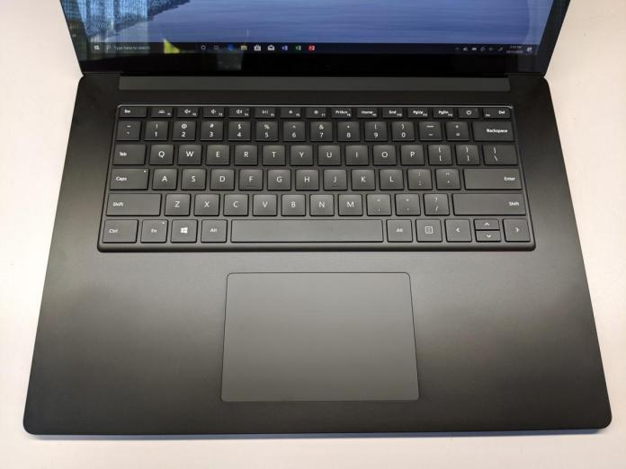Microsoft Surface Laptop 3 keyboard