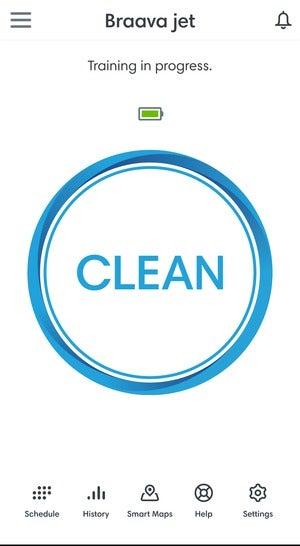 braava jet m6 app clean