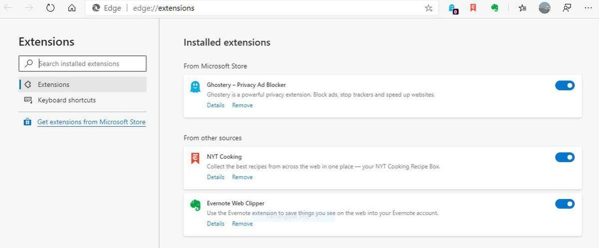 Microsoft edge chromium 02 extensions
