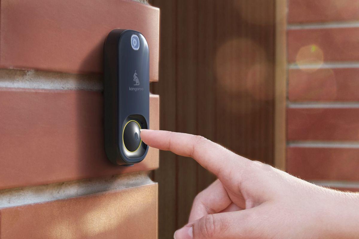 Tech :  La caméra de sonnette de 20 $ de Kangaroo vous permet de garder un œil sur votre porte  infos , tests