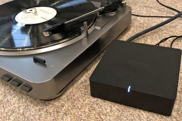 sonos port with turntable