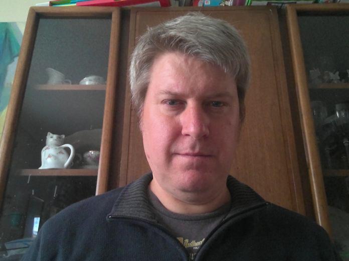 Microsoft Surface Book 3 user facing camera selfie