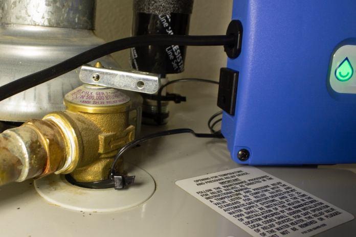 aquanta sensor on tandp relief valve