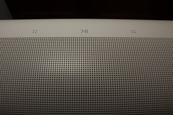 capacitive touch controls on sonos arc