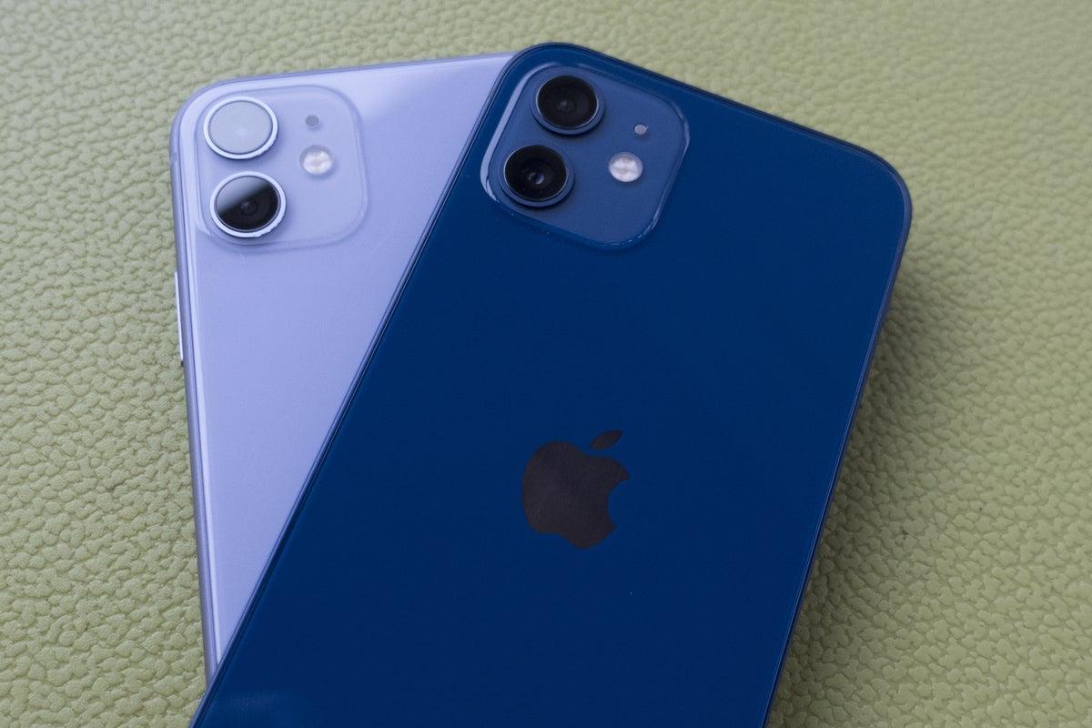 iphone 12 versus 11 camera