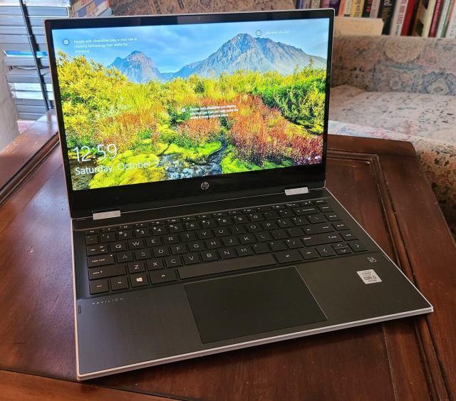 Ноутбук-трансформер HP Pavilion x360 14 dw0097nr, основной