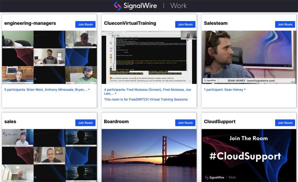 dây tín hiệu hội nghị truyền hình mã nguồn mở hoạt động