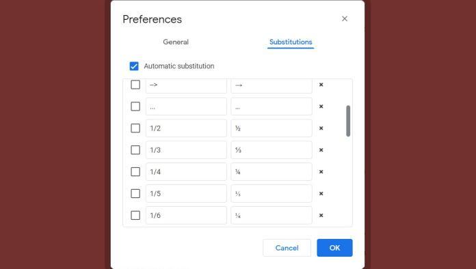 03b google docs fixes text substitution