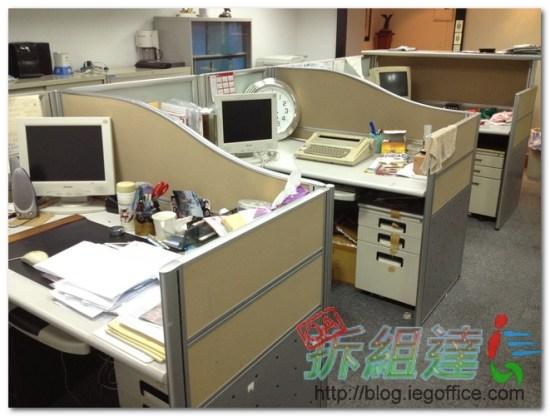 二手辦公家具,ees 3cm辦公屏風