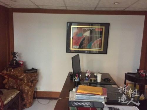 辦公室裝潢,壁紙