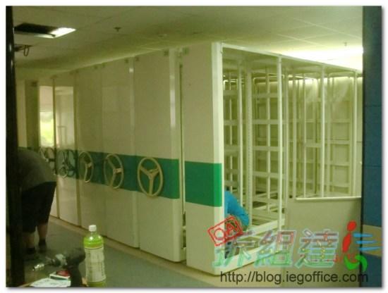 辦公室裝修,搖搖櫃,系統儲藏鐵櫃