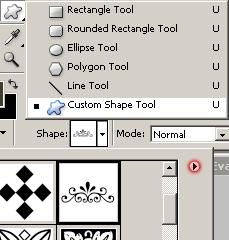 Custom Shape Tool - Photoshop Tutorial