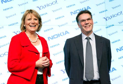 Yahoo and  Nokia announce partnership