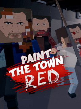 Paint The Town Red Game : paint, Paint, Press