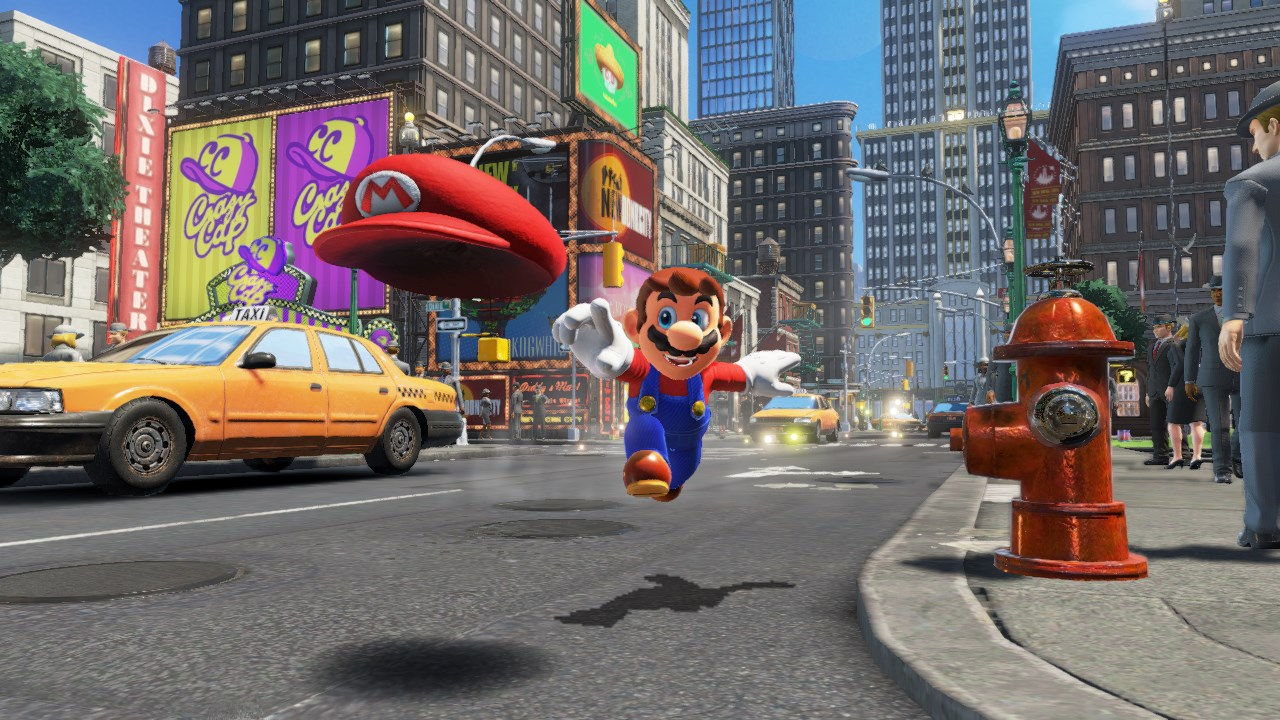 Mario's new cap-throwing ability opens up an array of new gameplay mechanics (Image: IGDB)