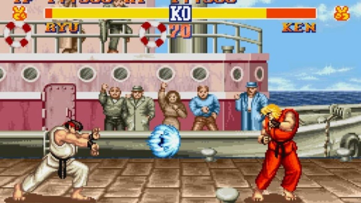 Yes, Hadouken. Yes, again.