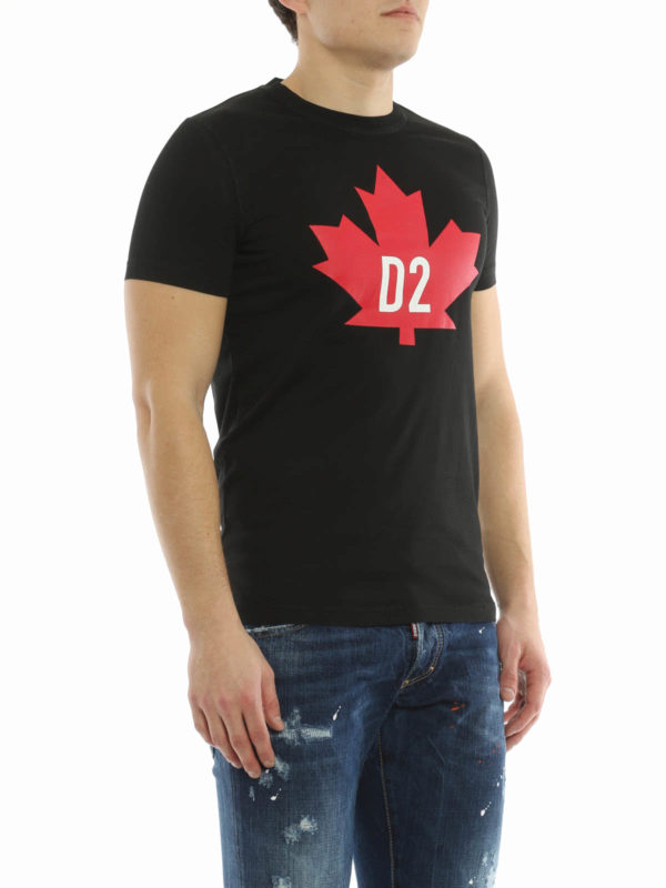 Dsquared2 D2 Canada T Shirt T Shirts S74GD0098