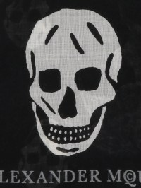 Punk Skull scarf by Alexander Mcqueen - scarves   Shop ...