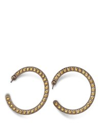Sterling silver bead hoop earrings by Athomie