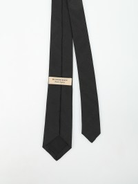 Stanfield Check silk tie by Burberry