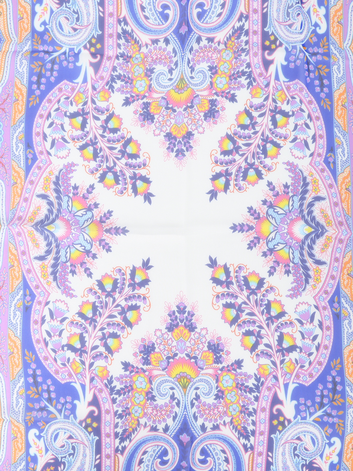 Paisley pattern silk scarf by Etro