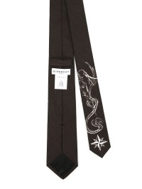 Givenchy - Sketch printed cotton tie - ties & bow ties ...