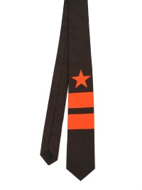 Givenchy - Star and stripe print cotton tie - ties & bow ...