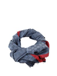 Gucci - GG jacquard scarf - scarves - 1473514G704 4273 ...