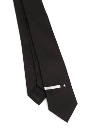 Star embroidery tie by Givenchy - ties & bow ties | iKRIX