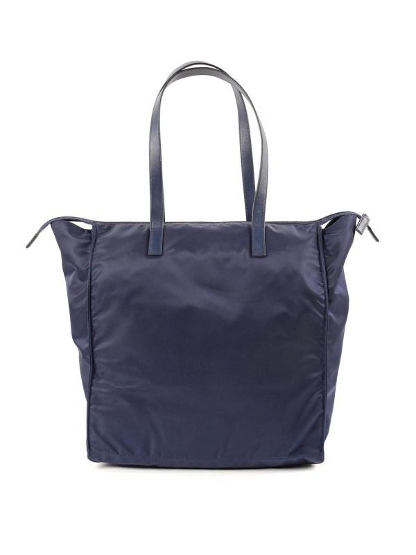 Prada Shopping Bag Nylon Ladies Wallets
